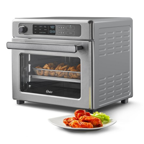 Oster Digital 9-Function Countertop Air Fryer Oven with RapidCrisp – Stainless Steel - image 1 of 4