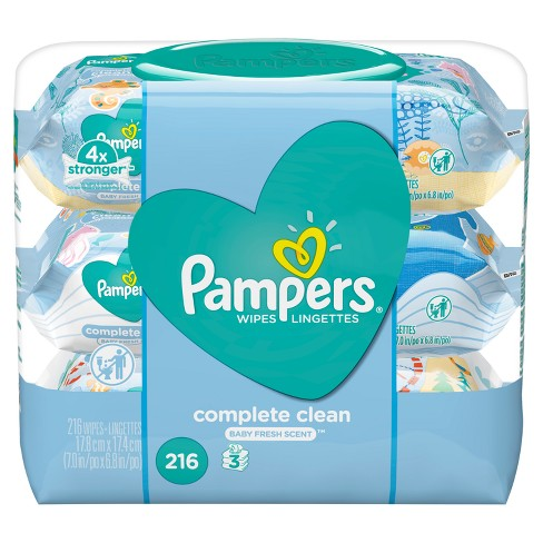 Pampers Wipes Complete Clean - image 1 of 3