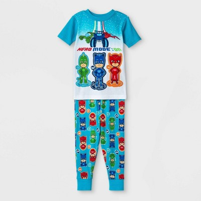 Toddler Boys' 2pc PJ Masks Pajama Set - Blue