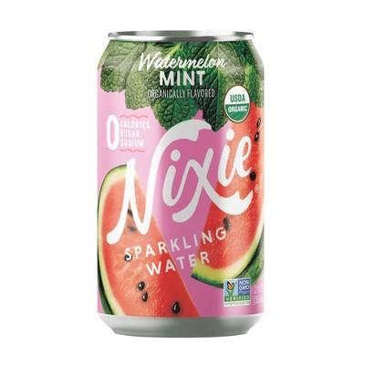 Nixie Watermelon Mint Sparkling Water - 8pk/12 fl oz Cans