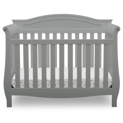 Delta Children Lancaster 4-in-1 Convertible Crib - Gray