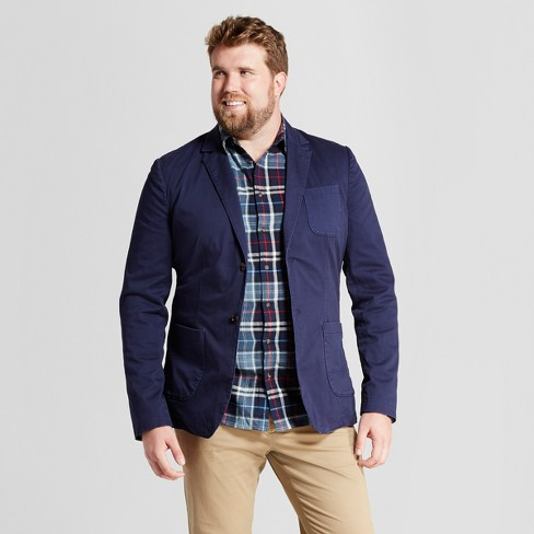 Men's Big & Tall Standard Fit Deconstructed Blazer - Goodfellow & Co™ - image 1 of 3
