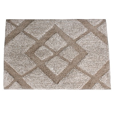 "20"" x 30"" Davidson Bath Rug Light Brown - Saturday Knight Ltd."