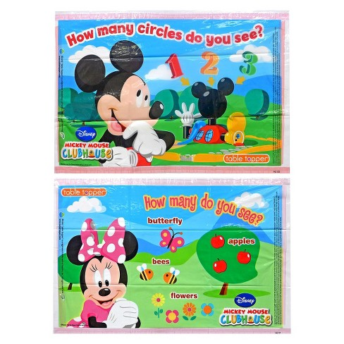 Disney Mickey and Friends 18ct Table Topper Placemats - image 1 of 3