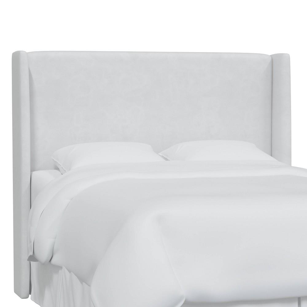 Full Antwerp Wingback Headboard White Velvet - Project 62 Price