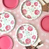 20ct Floral Disposable Dinner Plates - Spritz™ - image 2 of 2