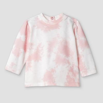 Grayson Mini Baby Girls' Tie-Dye Sweatshirt - Pink 3-6M