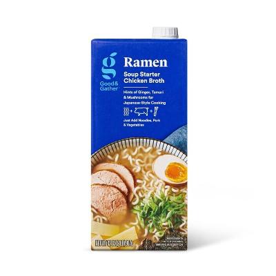 Ramen Soup Starter Chicken Broth - 32oz - Good & Gather™