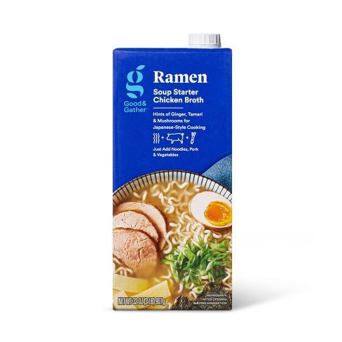 Ramen Soup Starter Chicken Broth - 32oz - Good & Gather™ - image 1 of 3
