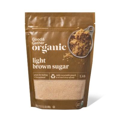 Organic Light Brown Sugar -  24oz - Good & Gather™