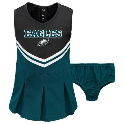 NFL Philadelphia Eagles Baby Girls' Cheer Set