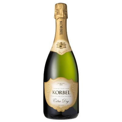 Korbel Extra Dry Sparkling Wine - 750ml Bottle