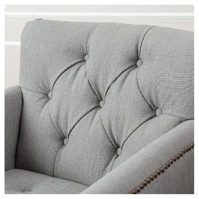Tafton Linen Club Chair   Green/Gray : Target