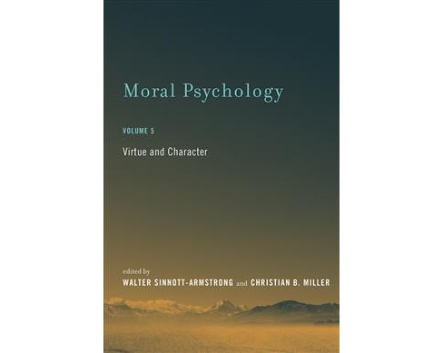 Moral Psychology : Virtue and Character (Vol 5) (Reprint) (Paperback) - image 1 of 1