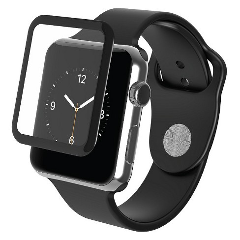 ZAGG Apple Watch Series 3 38mm Glass Luxe Screen Protection - Black   Target 19467ab9696b