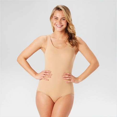 50975aca7b Assets By Spanx Women s All Around Smoothers Shaping Reversible Bodysuit    Target