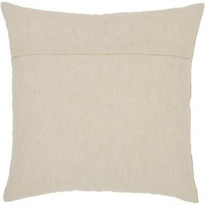 "Nourison Silk Embroidery Botanical Green Throw Pillow - 18"" X 18"" : Target"
