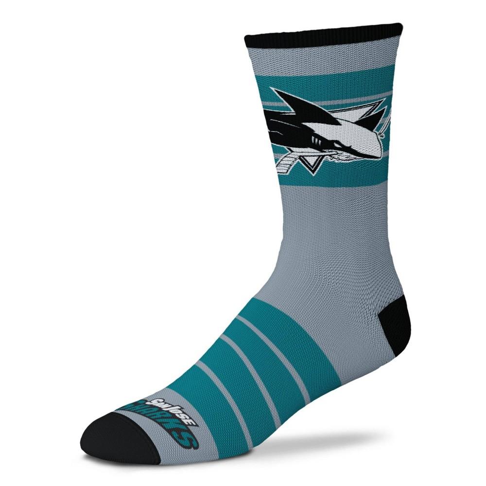 Nhl San Jose Sharks Quad Socks M