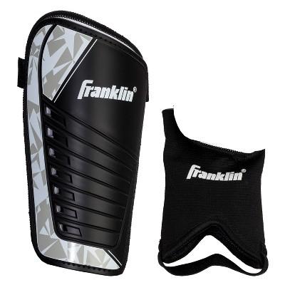 Franklin Sports Field master Shin Guards Black/Silver - S