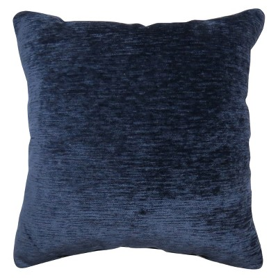 Oversize Square Chenille Pillow Navy - Threshold™