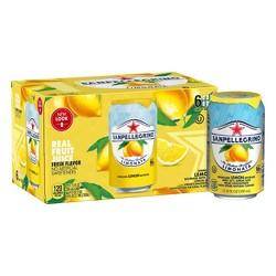 Sanpellegrino Sparkling Fruit Beverages Limonata/Lemon - 6pk/11.15 fl oz Cans