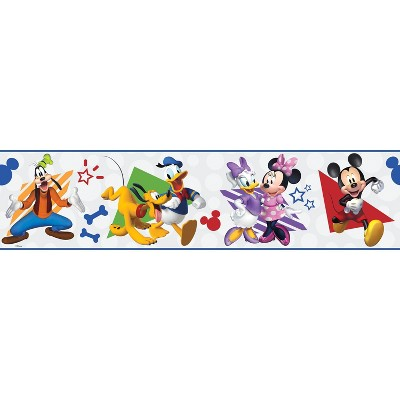 Disney Mickey Mouse and Friends Peel and Stick Wallpaper Border - RoomMates