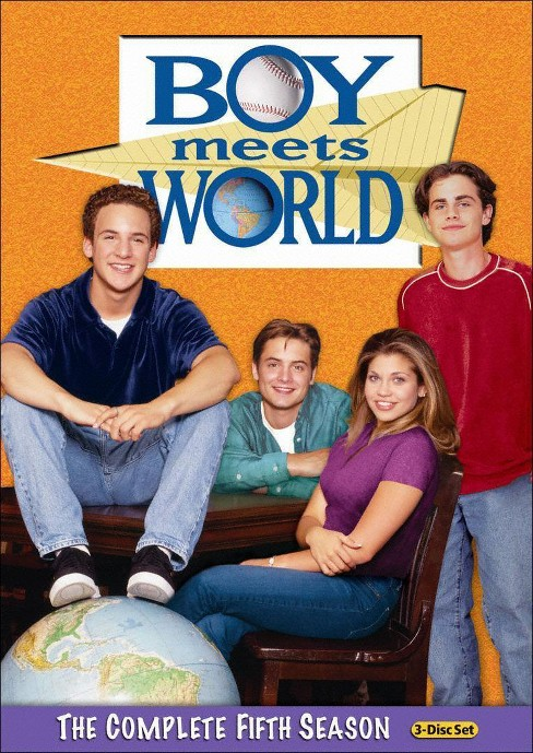 Boy Meets World: The Complete Fifth Season (3 Discs) (dvd_video) - image 1 of 1
