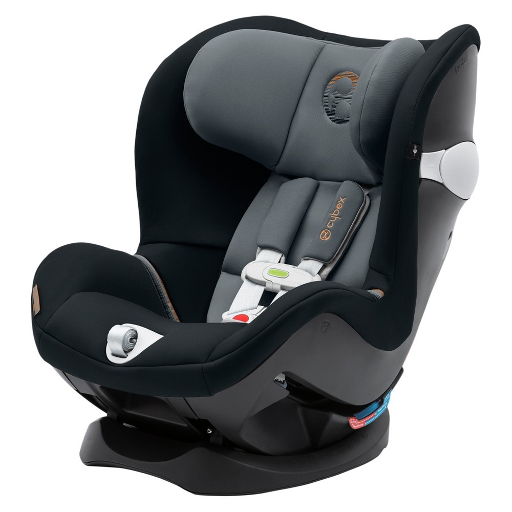 Image of Cybex Sirona M Sensorsafe Convertible Car Seat - Pepper Black