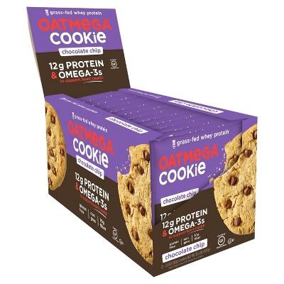 Granola & Protein Bars: Oatmega Cookie