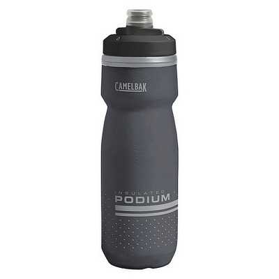 CAMELBAK 1874001062 Water Bottle,21 oz.,Plastic,Black Body