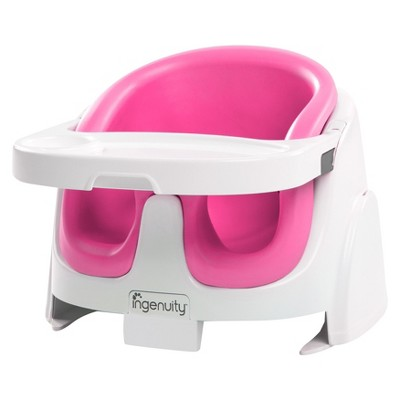 Ingenuity Baby Base 2-in-1 Booster Seat - PINK