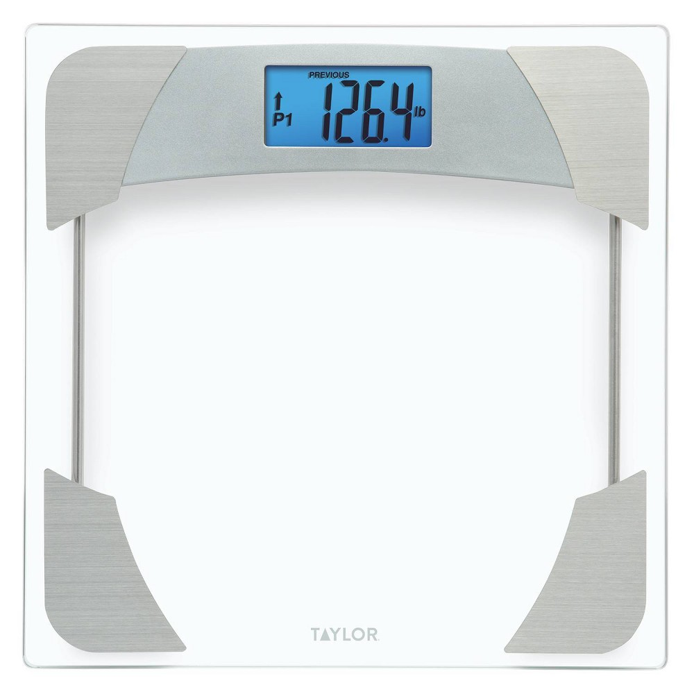 Image of Glass Weight Tracker Scale - Taylor