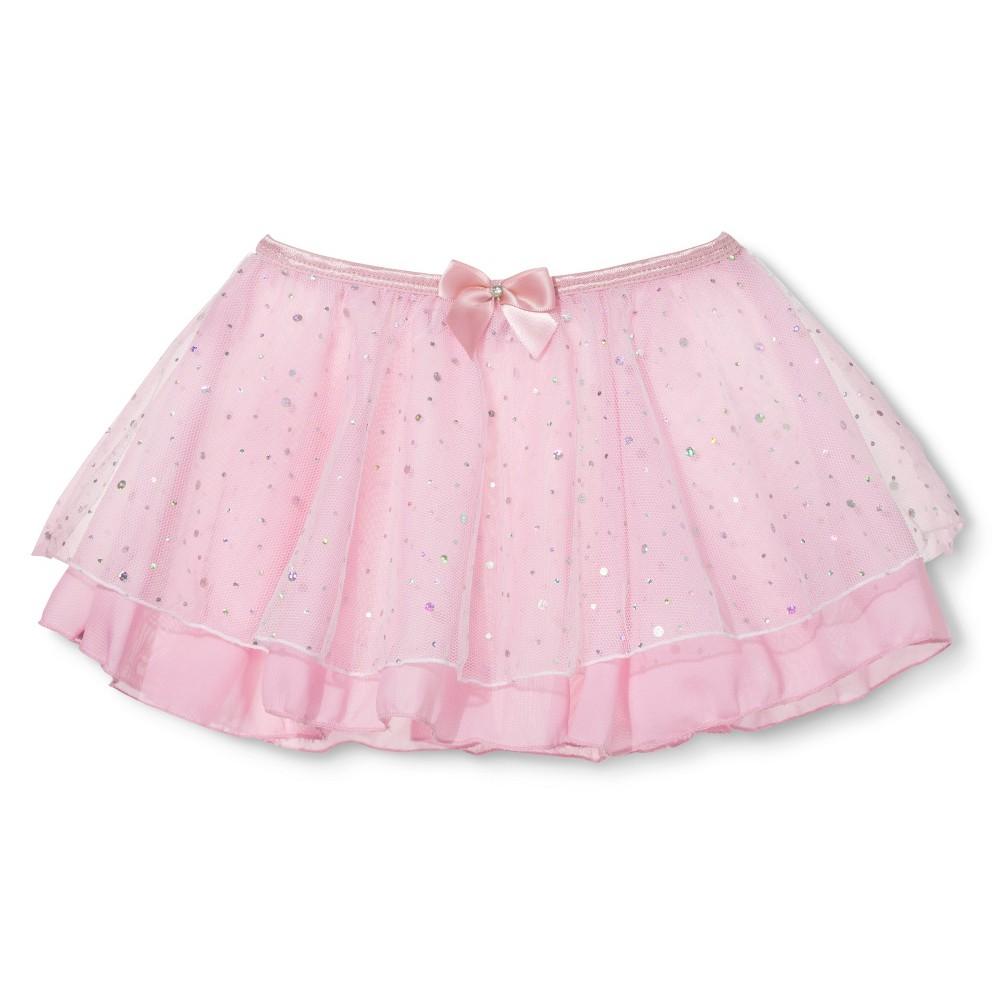 Danz N Motion Girls' Tutu - Pink M, Black