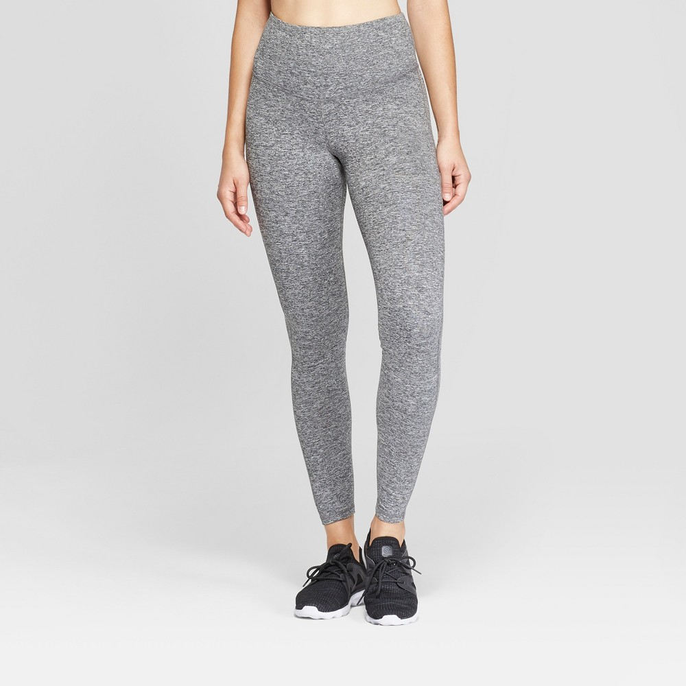 Women's Everyday High-Waisted Leggings - C9 Champion Black Heather XS - Short