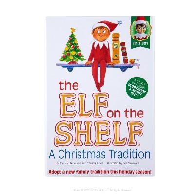 The Elf on the Shelf - Blue Eye Boy Elf - by Chanda Bell (Hardcover)