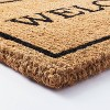 """1'6""""x2'6"""" Welcome Doormat Neutral - Threshold™ designed with Studio McGee - image 3 of 4"""
