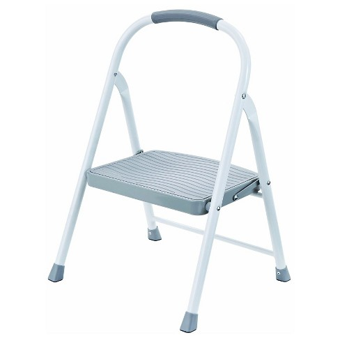 Fantastic Rubbermaid Steel Step Stool 1 Step Creativecarmelina Interior Chair Design Creativecarmelinacom