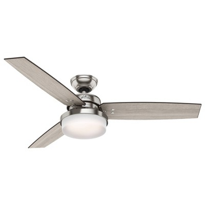 """52"""" Sentinel Ceiling Fan with Remote (Includes Energy Efficient Light) - Hunter"""