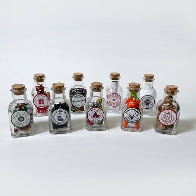 9ct Holiday Filled Collectible Bottles - Bullseye's Playground™