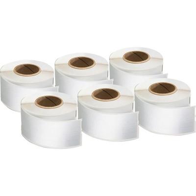 "Dymo Labels LabelWriter 3-7/16""Wx9/16""H 6 RL/PK White 2050812"