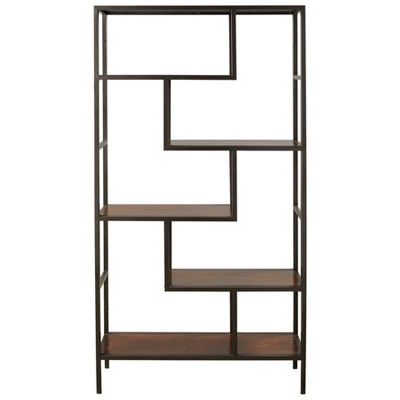 Frankwell Bookcase Brown/Black - Signature Design by Ashley