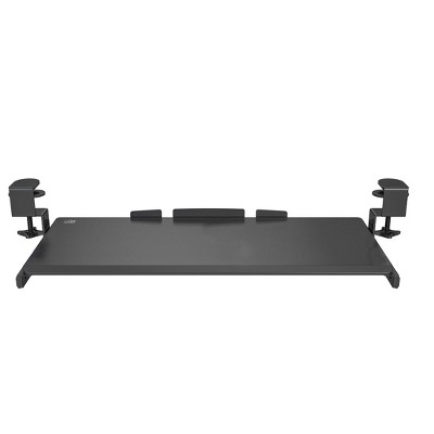 Airlift 360 Degree Extra Wide Under Desk Sliding Ball with Bearing Keyboard Tray Black - Seville Classics