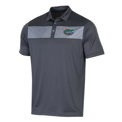NCAA Men's Short Sleeve Polo Shirt Florida Gators - L