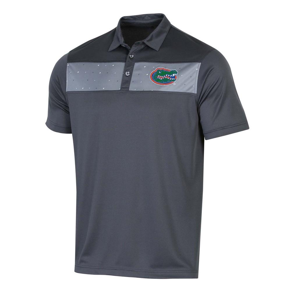NCAA Men's Short Sleeve Polo Shirt Florida Gators - L, Multicolored