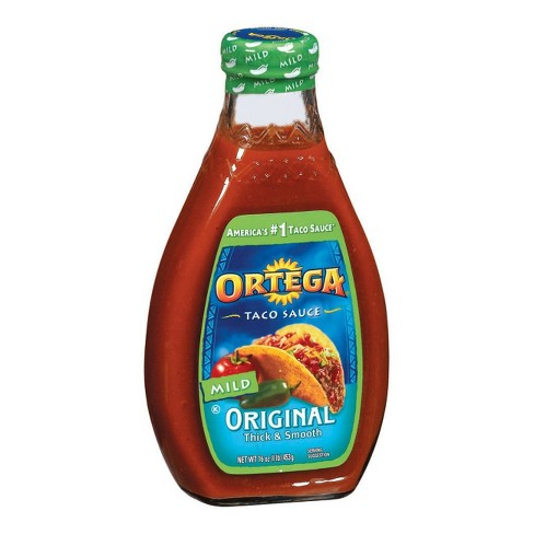 Ortega Original Thick & Smooth Mild Taco Sauce 16-oz. - image 1 of 1