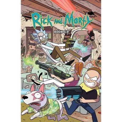 Rick and Morty Book Six, 6 - by  Kyle Starks & Tini Howard (Hardcover)