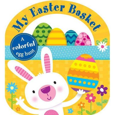 My Easter Basket -  (Lift-the-flap Tab Books) by Roger Priddy (Hardcover)