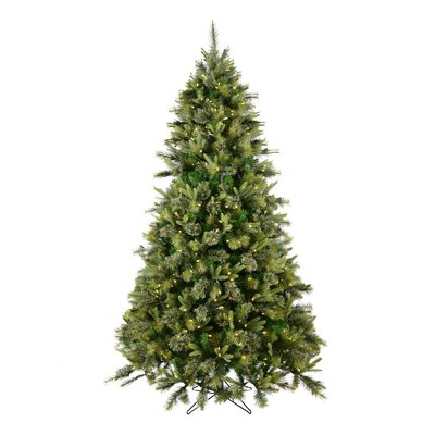 7.5ft Pre-Lit Cashmere Pine Full Artificial Tree LED Warm White - Vickerman