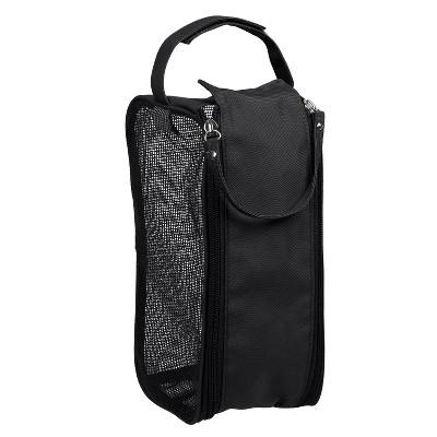 Hanging Shower Dopp Kit Black - Bath Bliss