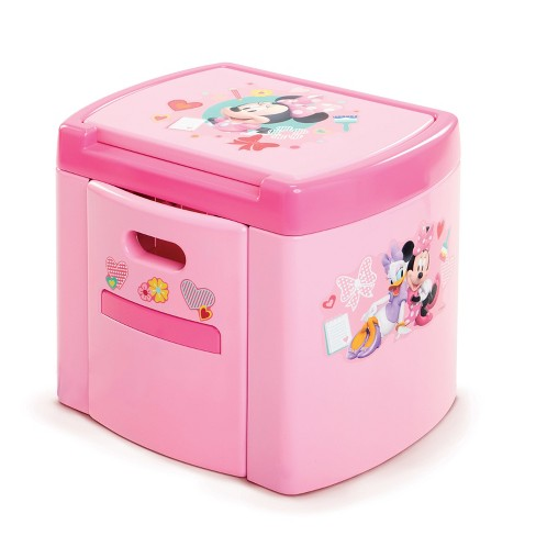 Disney Minnie Mouse Pretend N' Play Activity Table Set - Pink - image 1 of 3